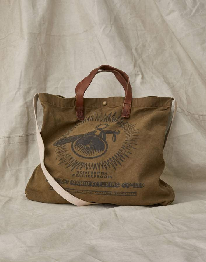 Belstaff BELL AND STAFF CANVAS TOTE