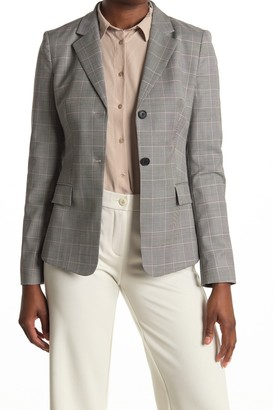 HUGO BOSS Jatinda Glen Check Wool Suit Jacket