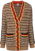 M Missoni oversized intarsia cardigan - women - Polyamide/Viscose/Wool - M