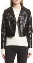 Veda Nova Gloss Leather Moto Jacket (Nordstrom Exclusive)