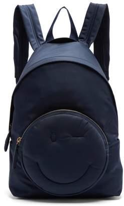 Anya Hindmarch Chubby Wink Backpack - Womens - Navy