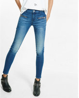 Express mid rise super soft ankle jean legging