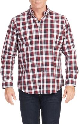Johnny Bigg Nickson Check Button-Down Shirt
