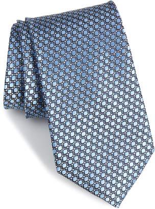 Nordstrom Bassini Geometric Silk Tie