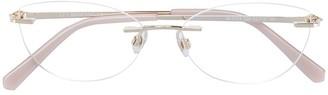 Swarovski Eyewear cat-eye frame glass