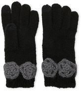 Betsey Johnson Winter Bloom I-Touch Gloves
