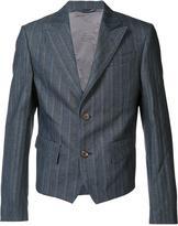 Vivienne Westwood Man cropped striped jacket