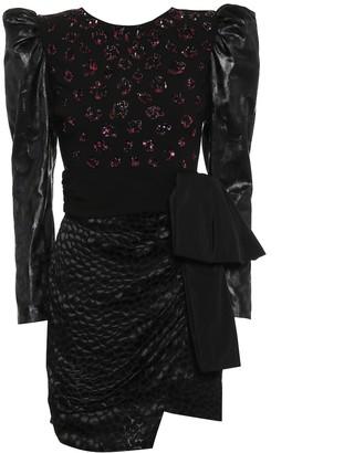 Dundas Sequined minidress