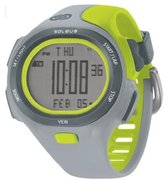 Soleus Unisex SR008-082 P.R Grey and Lime Green Watch