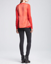 Acne Studios Cropped Mid-Rise Skinny Jeans, Faded Black