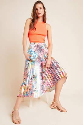 Delfi Sydney Marbled Midi Skirt