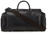 J By Jasper Conran Black Leather Holdall Bag