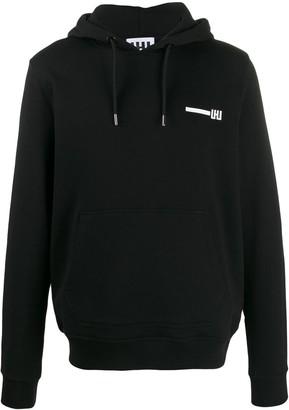 Les Hommes Urban logo print hoodie