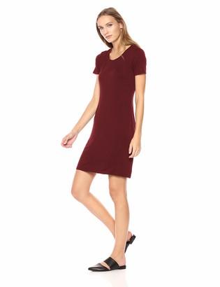 Daily Ritual Amazon Brand Women's Jersey Short-Sleeve Scoop Neck T-Shirt Dress