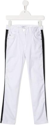 Givenchy Kids Logo Tape Denim Jeans
