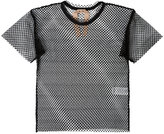No.21 mesh T-shirt - women - Polyester - 38