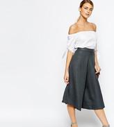 Love Tailored Culottes In Fishbone