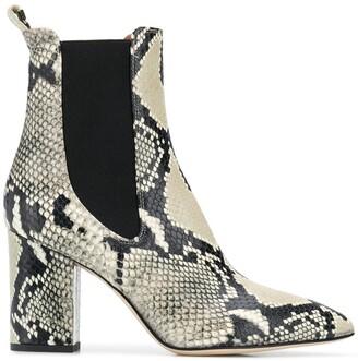 Paris Texas Snakeskin Effect Boots