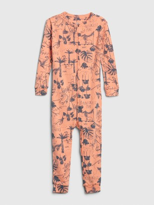 Gap babyGap Print PJ One-Piece