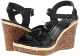 Christin Michaels Faizah (Black Burnished) - Footwear
