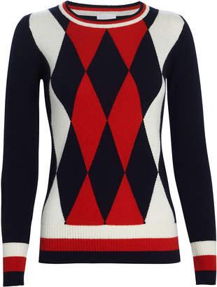 Madeleine Thompson Prudence Argyle Cashmere Sweater