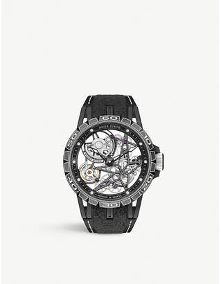 Roger Dubuis RDDBEX0705 Excalibur Spider Pirelli automatic SLC titanium Skeleton watch
