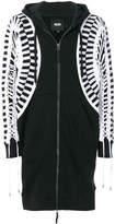 Kokon To Zai oversized lace-up hoodie