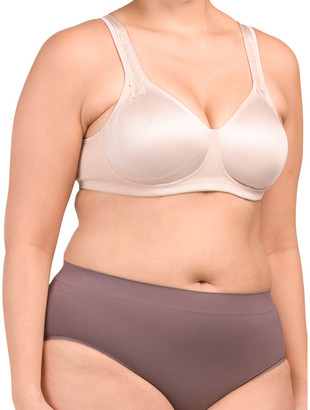 Full Figure Wire Free Breathable Cool Bra