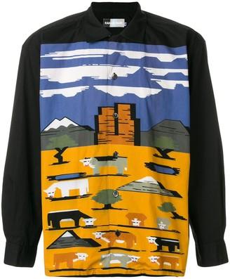 Kansai Yamamoto Pre-Owned landscape-print shirt