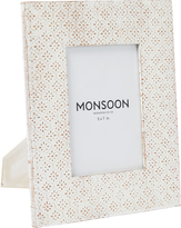 Monsoon Embossed Photo Frame