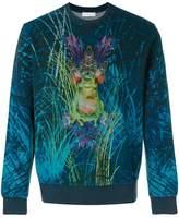Etro frog print sweatshirt