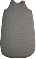 Numero 74 Baby sleeping bag - Grey and cream dots