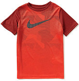 Nike Big Boys 8-20 Legend Camouflage-Sublimation-Printed Color Block Short-Sleeve Tee