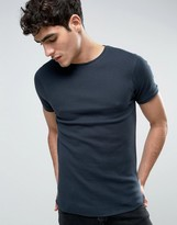 Bellfield Muscle Fit T-Shirt In Waffle