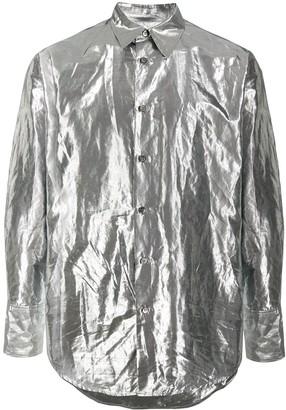 Christian Wijnants Crinkled Moire Shirt