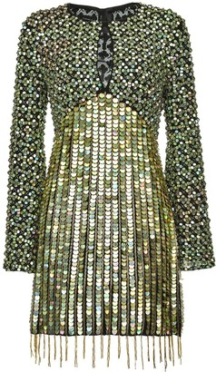 Pinko Sequinned Fitted Dress