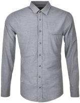 BOSS ORANGE HUGO Elvedge Shirt Blue