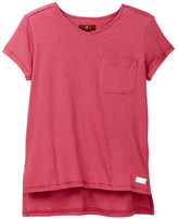 7 For All Mankind Pocket Tee (Big Girls)