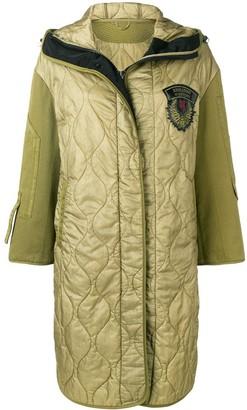 Ermanno Scervino Quilted Parka Coat