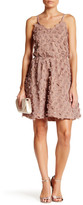 Dress the Population Holly Floral Fit & Flare Dress