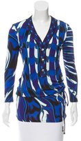 Emilio Pucci Printed Button-Up Tunic