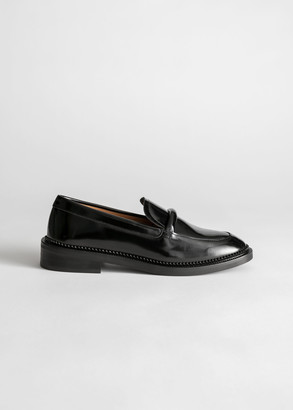 And other stories Leather Penny Loafers