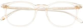 Garrett Leight Justice round-frame glasses