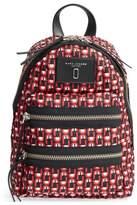 Marc Jacobs Logo Scream Mini Biker Backpack