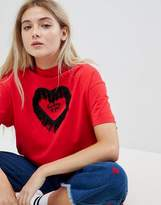 Lazy Oaf Valentines Not Thinking Oversized T-Shirt