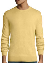 ST. JOHN'S BAY St. John's Bay Long-Sleeve Solid Crewneck Sweater