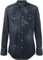 DSQUARED2 'Western' shirt - men - Cotton/Spandex/Elastane - 46