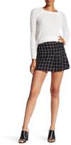 BCBGeneration Windowpane Tweed Mini Skirt