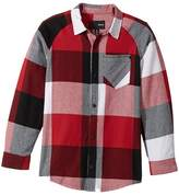 Hurley Flannel Long Sleeve Raglan Top (Big Kids)