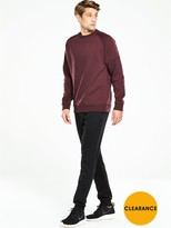 Very Long Sleeve Crew Neck Sweat Shirt